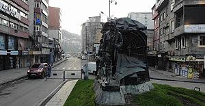 Zonguldak yasağa uydu: Sessizlik hakim