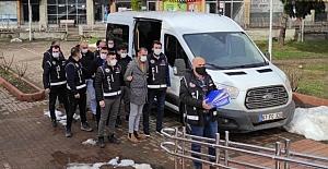 5 Kişi tutuklandı