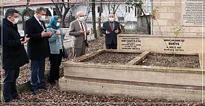 Abdullah Sabri Efendi mezarı başında anıldı