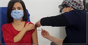 Çin aşısı Zonguldak'a geldi