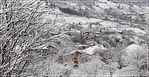 Devrek'te köy yolları açık