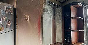Elektrik kesintileri evi yaktı!