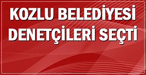 Kozlu Belediyesi denetçileri seçti