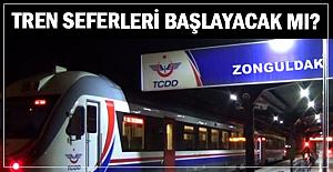 Tren seferleri başlayacak mı?