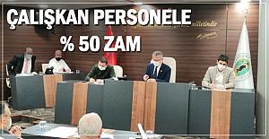 Tüm belediyelerin üzerinde ZAM!
