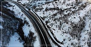 Zonguldak'ta kar manzaraları