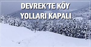 38 Köy yolu kapalı