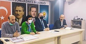 AK Parti Merkez İlçe, Mahalle teşkilatları ile toplanıyor