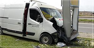 Feci kaza; 1 kişi yaralandı