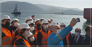 Filyos Liman altyapısı bitti bitecek