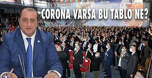 Herhalde virüs AKP'lilere bulaşmıyor