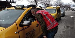İzin belgesi olmayan sürücüler geri gönderildi
