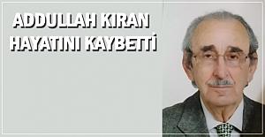 Kaymak'ın kayınpederi Abdullah Kıran hayatını kaybetti