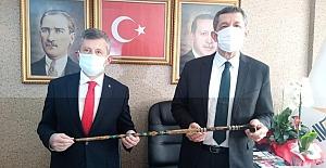 Milli Eğitim Bakanı, AK Parti İl binasında
