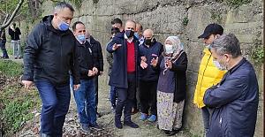 AK Parti, Mithatpaşa'da sorun dinledi