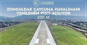 Havaalanı pisti bugün açılacak