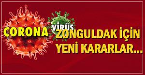Zonguldak için yeni kararlar...