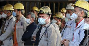 Grizu Maden şehidi 30 Madenci dualarla anıldı
