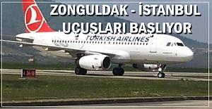İstanbul uçuşları başlayacak