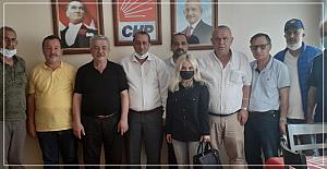 İYi Parti Kozlu'dan CHP ziyareti