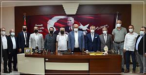 MÜSİAD'dan Posbıyık'a destek