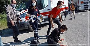 Kamyon ile çarpıştı: 2 ağır yaralı