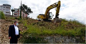 Teras Park'ta çalışmalar başladı