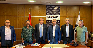 TSO Başkan adayı Özcan destek turlarında..