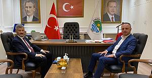 Zeki Tosun, Selim Alan'ı ziyaret etti
