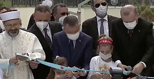 Erdoğan Ereğli'ye camii sözü verdi