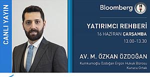 Zonguldaklı Avukat Bloomberg TV'de