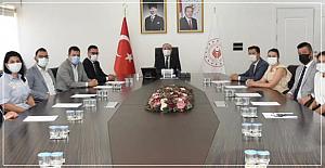 Baro başkanı Kapkaç'tan Tutulmaz'a ziyaret