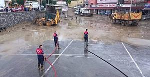 Doğal afet yaşayan Ormanlı'da son durum: 36 İşyerini su bastı...