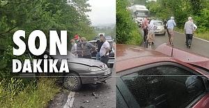 Kafa kafaya çarpıştılar: 1 kişi ağır, 6 kişi yaralı!