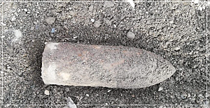 Patlamamış bomba bulundu