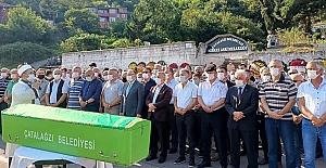 Süleyman Akgün, son yolculuğuna uğurlandı