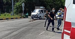 Trafik kazası: Çok sayıda ambulans olay yerinde...
