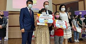 Zonguldak Okuyor yarışmasında derece elde ettiler