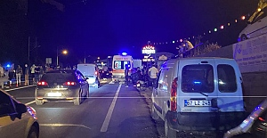 Kazada 19 yaşındaki iki genç yaralandı