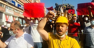 Madenciler, hükümetin teklifini protesto etti