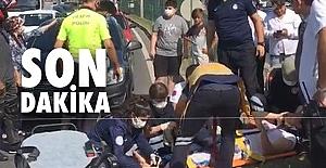 Otomobil kız çocuğuna çarptı