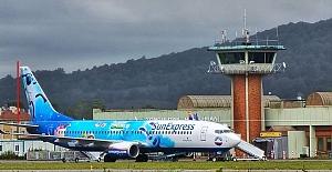 Boyalı uçak havaalanına yakıştı…