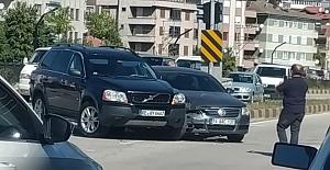 Devrek'te trafik kazası...