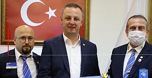 Başkan Alan, Rotaryenlere teşekkür etti...
