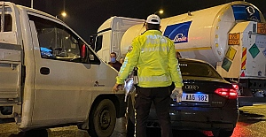 Kozlu'da zincirleme trafik kazası