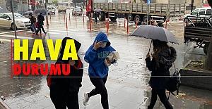 Kuvvetli yağış hayatı olumsuz etkiledi