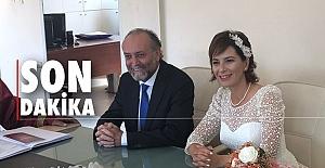 Sürpriz evlilik… Meclis Üyesi evlendi…
