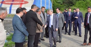 Vali Ahmet Çınar, Kilimli'de, Balıkçı Barınağı!..