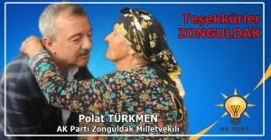 Teşekkürler Zonguldak...