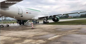 Zonguldak hava-limanında korku dolu anlar!..